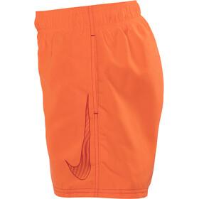 "Nike Swim Big Swoosh Logo - Bañadores Niños - 4"" gris/naranja"